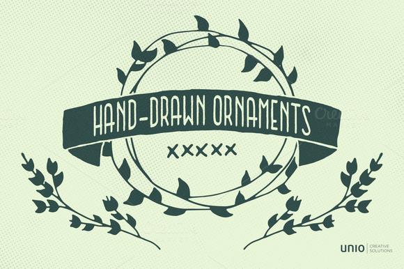 Ornaments Handsketched