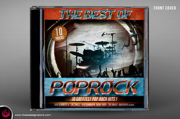 Best Of Rock CD Artwork Template