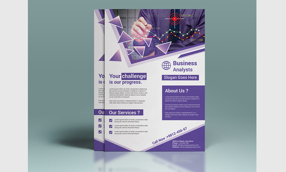 Creative Corporate Flyer 01