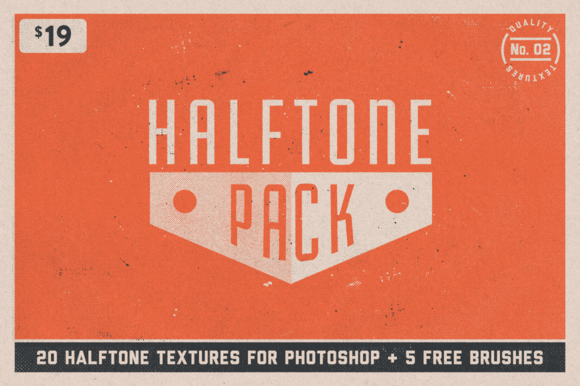 Photoshop Halftone Texture No.02
