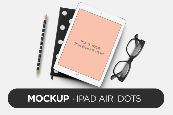 Mockup IPad Air Dots