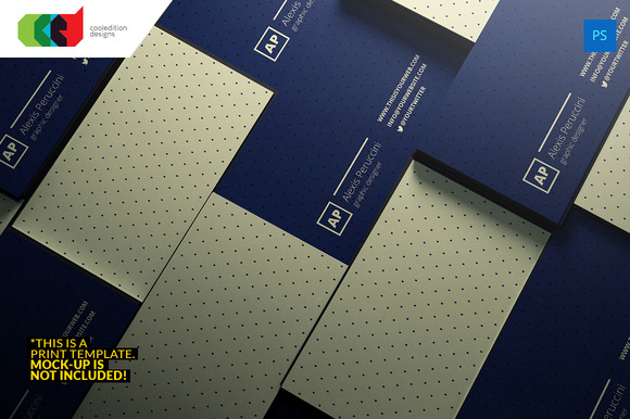 Minimal Executive Business Card 64