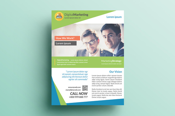 Creative Marketing Flyer V27