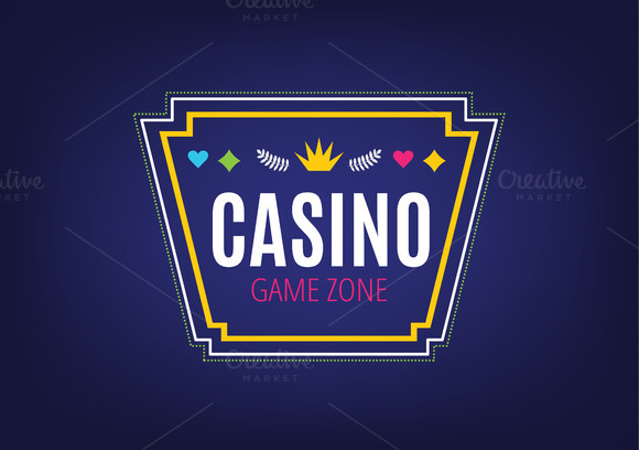Abstract Casino Logo Template