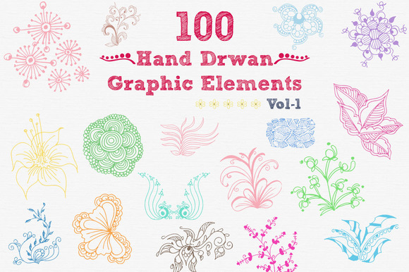 Hand Drawan Graphic Elements
