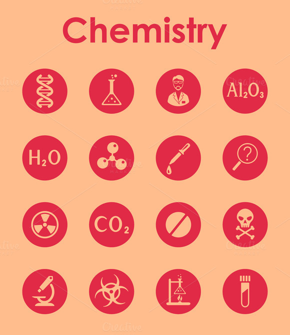 Chemistry Simple Icons