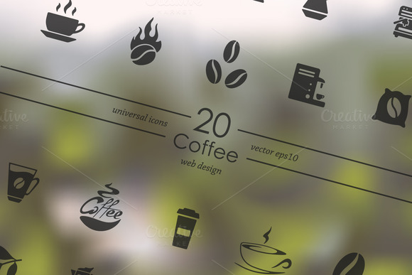 20 Coffee Icons