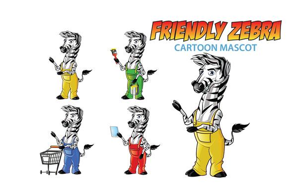 Friendly Zebra