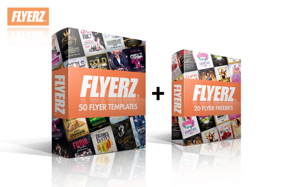 50 FLYERS BUNDLE 10 FREEBIES