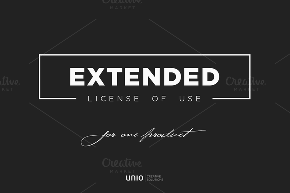 Extended License Of Use