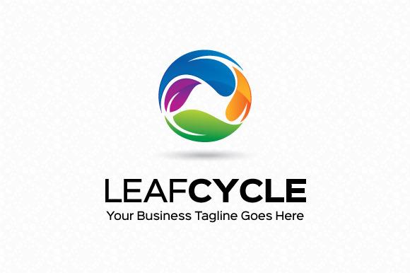 Leaf Cycle Logo Template