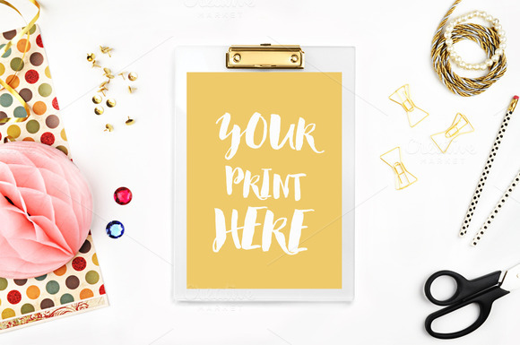 Styled Photo Product Mockup