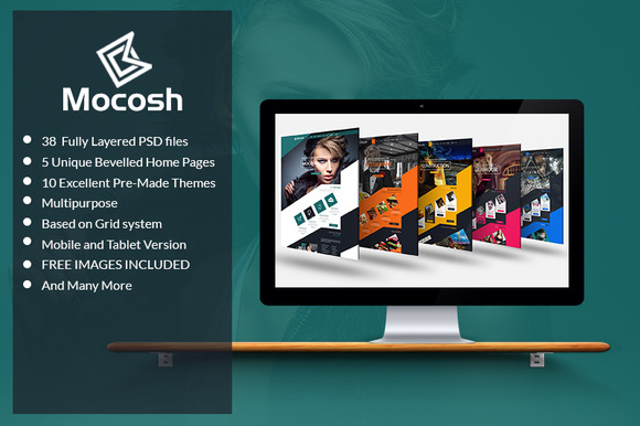 Mocosh Multi-Purpose PSD Template