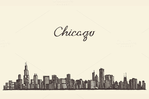 Chicago Skyline USA