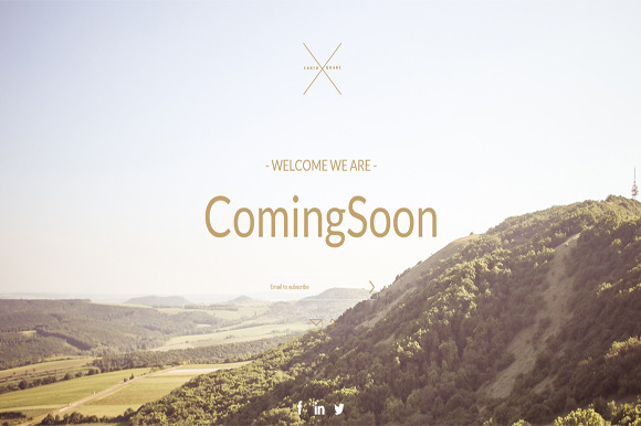 Summer Coming Soon HTML Template