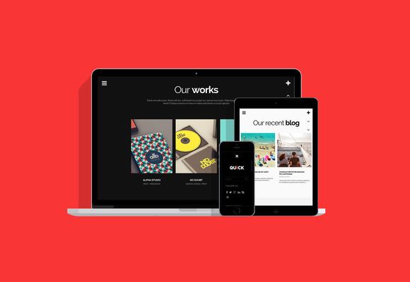 Quick WordPress Theme