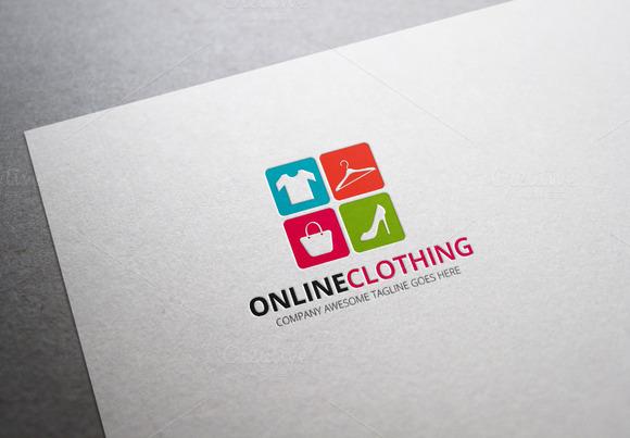 Online Clothing Logo