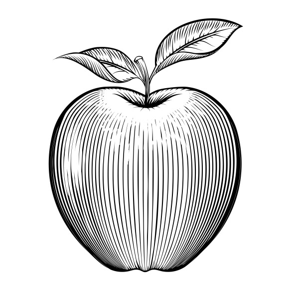 Engraving Apple