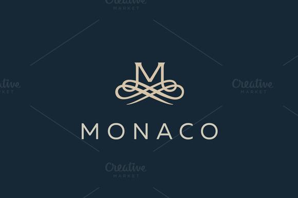 Premium Letter M Elegant Monogram