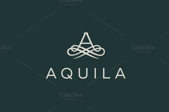 Premium Letter A Elegant Monogram