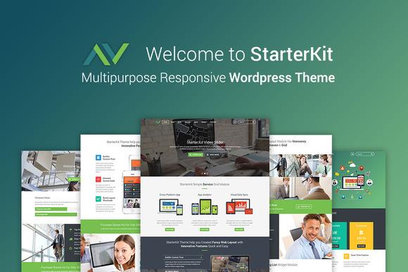 StarterKit Wordpress Themes