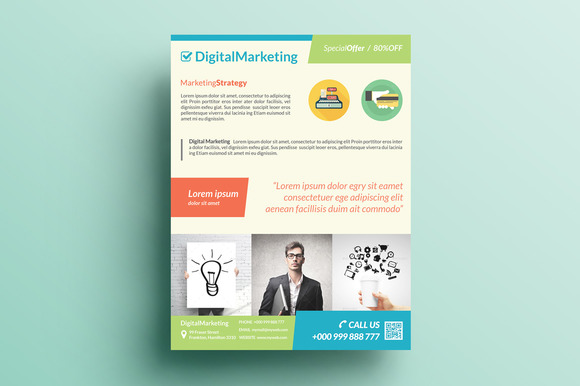 Creative Corporate Flyer V1