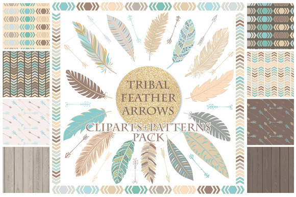 Tribal Clipart And Patterns