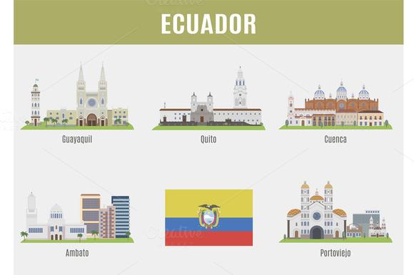 Cities In Ecuador