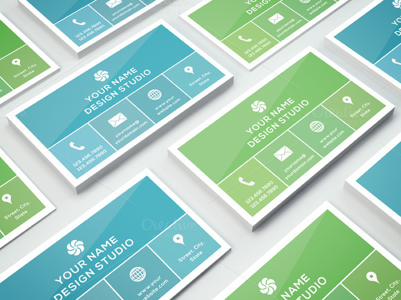 Business Card Template 002 Photoshop