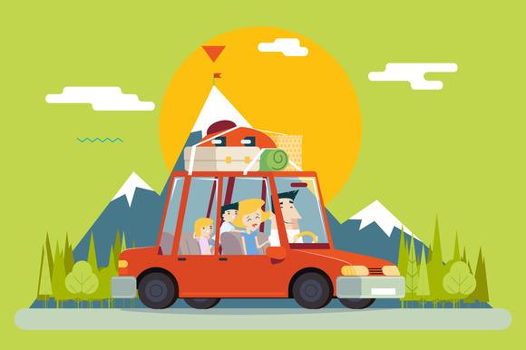 Family Car Travel