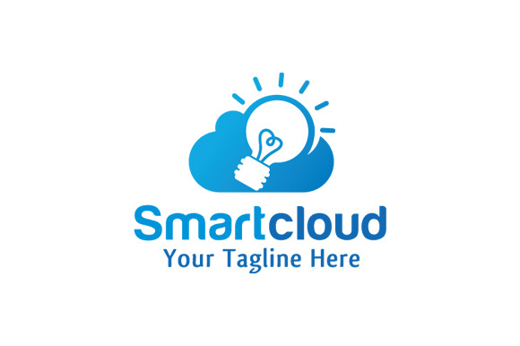 Smart Cloud Logo Design Icon