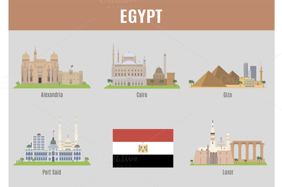 Cities Of Egypt