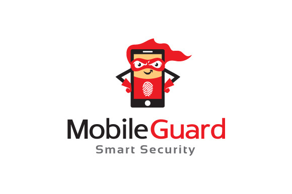 Mobile Guard Logo Design Icon