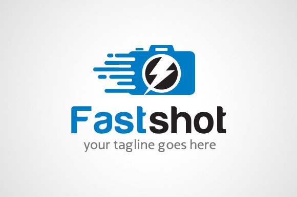Fast Shot Photography Logo Design
