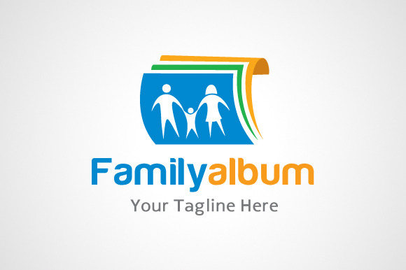 Family Album Photo Logo Icon