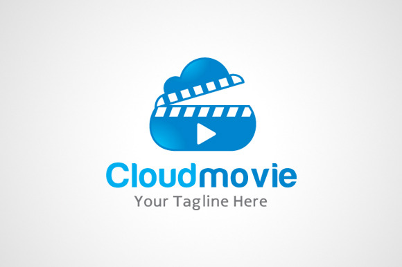 Cloud Movie Logo Icon