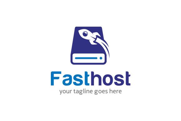Fast Hosting Logo Design