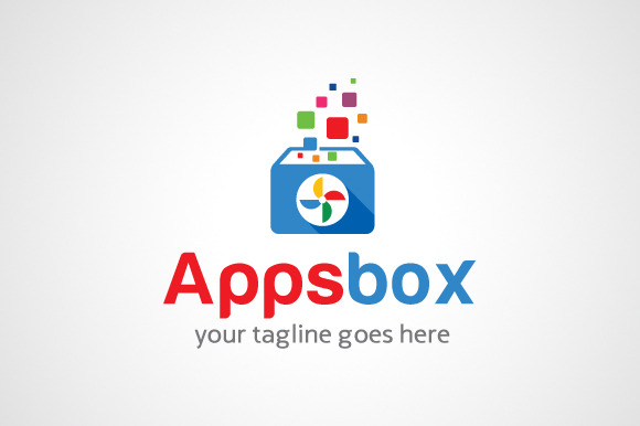 Apps Box Logo Icon