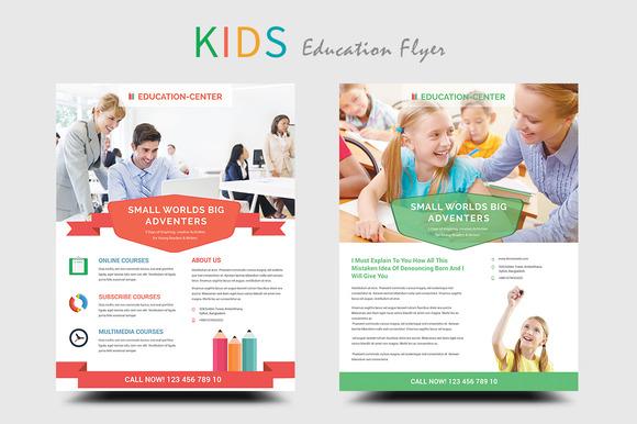 Kids Education School Flyers