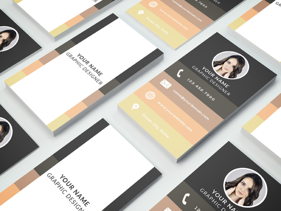 Business Card Template 003 Photoshop