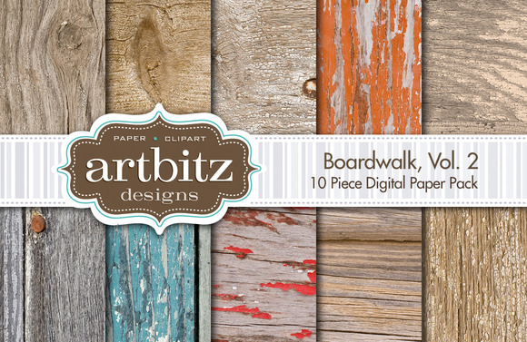 Boardwalk V2 Digital Paper