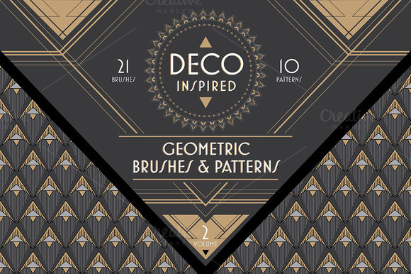 Deco Brushes Patterns Vol 2