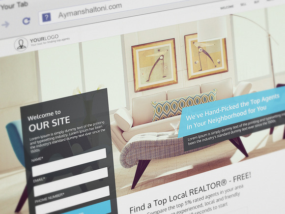 Realator Real Estate Agents Website