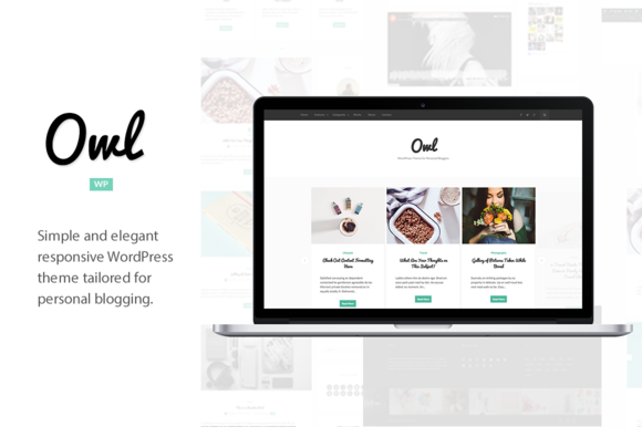 Owl WordPress Theme For Blogging