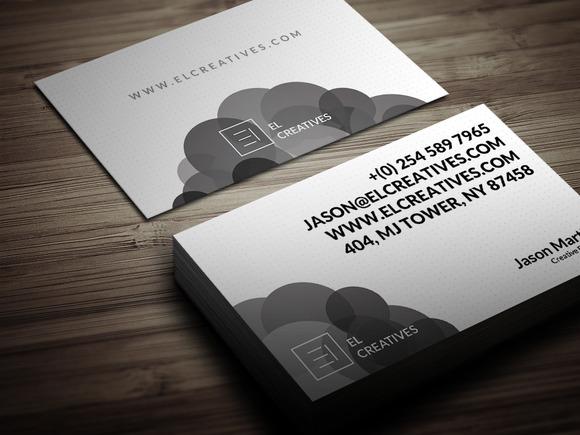 Creative Circles Business Card