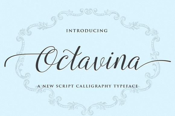 Octavina Script
