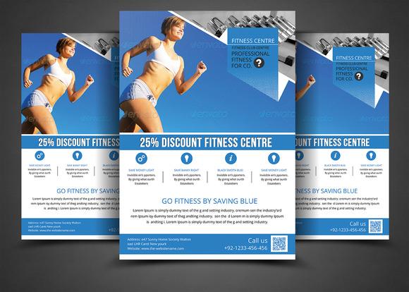 Fitness Flyer Gym Flyer Print Temp