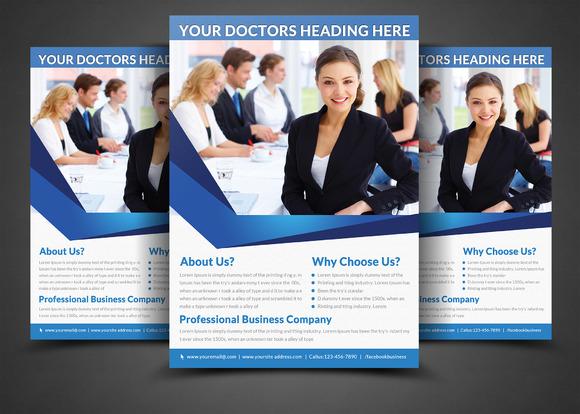 Health Medical Doctors Flyer Print