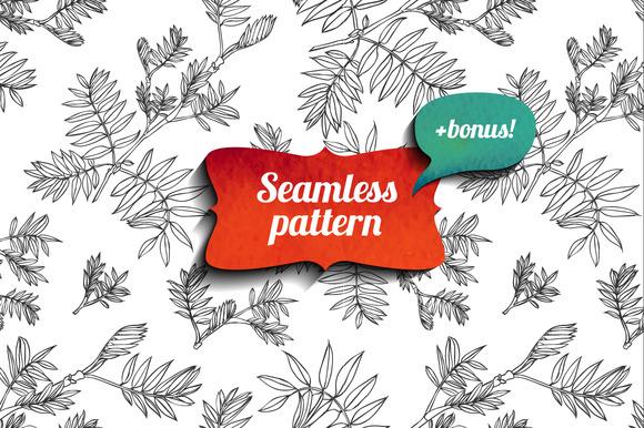 Seamless Floral Pattern Bonus