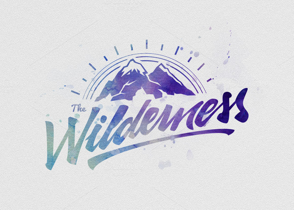 Watercolor Logo Effect Generator V1